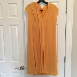 Preowned Escada yellow dress size 36